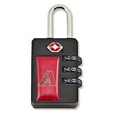 NEW Aminco MLB Arizona Diamondbacks TSA Security Lock