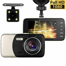 Front and Rear Car Video Dashcam 1080p HD DVR IPS Recorder - UK Seller & Stock