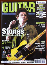Guitar Part n°139; Stones/ 7 scores complets; Iron Maiden, Placebo, No one is in