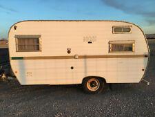1970 Kayot Forester Bumper Pull Camper. 7x11 Vintage Camp Travel Trailer