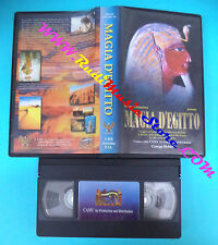 VHS film MAGIA D'EGITTO Maurizio Damiano George Helmy CAMY 150 mins (F58) no*dvd