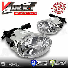 Fits 1998-1999 Accent Fog Lights Replacement Clear Lens Lamps - PAIR