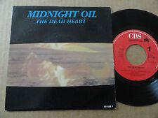 """DISQUE 45T DE  MIDNIGHT OIL  """" THE DEAD HEART """""""