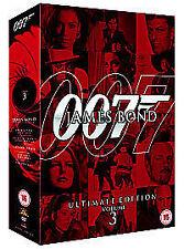 James Bond: Ultimate Collection - Volume 3 NEW 10 disc boxset 5 great Bond Films