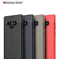 Ultra Thin PU Leather Soft TPU Shockproof Case Cover For Samsung Galaxy Note 9