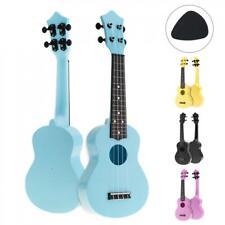 "21"" Colorful Soprano Acoustic Ukulele 4 Strings Hawaii Guitar for kids/Beginner"