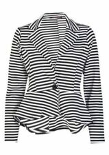 Unbranded Machine Washable Striped Coats, Jackets & Vests for Women