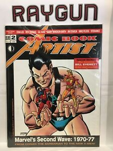 Comic Book Artist #2 (Summer 1998) VF+ Twomorrows Publishing Comic Magazine