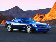 2004 Cadillac XLR, Front angle #2, BLUE, Refrigerator Magnet, 40 MIL
