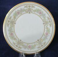 Lenox Castle Garden Floral Gold Rim Salad or Luncheon Plate EUC 1973-1993