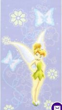 Personalized Disney Tinkerbell  Beach Towel--Purple ** GREAT SUMMER GIFT