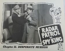 Radar Patrol vs Spy King - Classic Cliffhanger Serial Movie Dvd Kirk Alyn