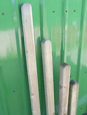 9 x 9 Holzpfosten Zaunpfahl Vierkantpfosten gerundet Pfosten Kantholz kdi