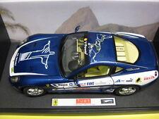 Mattel - ELITE Ferrari 599 GTB Fiorano Panamerican 20.000 Blau 1:18 Neu in OVP