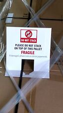 25 NO STACK PALLET TOPPERS, SAVE YOUR PRODUCTS FROM DAMAGE, FREE SHIPPING
