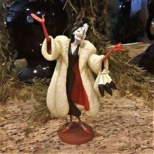 New WDCC Disney 101 Dalmatians Cruella De Vil Anita Daahling Porcelain Figurine