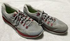 Nike Lunarglide+ 4 Mens Grey / red Mesh Running Shoes Size 14