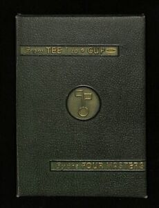 """""""From Tee to Cup"""" by Four Masters Golf Instructional Book by Wilson 1st Edition"""