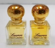 2 Lauren Miniatures by Ralph Lauren ( imperfection cap)