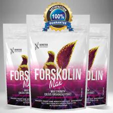 Forskolin 1500 MG x60 Capsule-Coleus forskohlii estratto Perdita di Peso Fat Burner