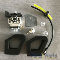 Carburetor For Husqvarna 324HDA 224L 324LDX 324RX 55X Trimmer Fuel Air filter