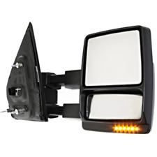 Fits 08-14 F150 Right Pass Power Mirror Tow Man Fold, Heat, Signal, Memory, Lamp