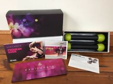Exhilarate Ultimate DVD Zumba Fitness Experience 7 Workout DVDs + Toning Sticks