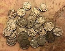 Buffalo Nickels Lot Of 30
