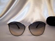 Authentic! Tom Ford Penelope TF 320 color 28B Black Sunglasses 59mm