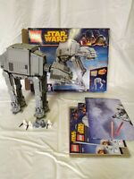 Lego 75054 AT-AT Walker w/ minifigs box  instructions and poster nr mint ATAT