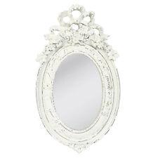 Ovale Deko-Spiegel im Landhaus-Stil