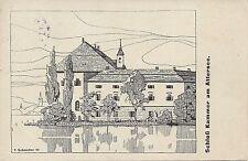OÖ: Gruß aus Schloss Kammer am Attersee ( Salzkammergut ) 1922 ( T. Schmoller )