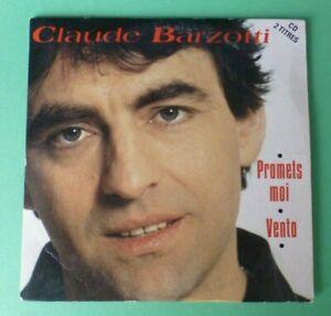 "CLAUDE BARZOTTI CD Single  CARD SLEEVE  "" Promets moi , Vento "" France"