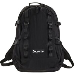 Supreme Backpack (FW20) Black Deadstock New