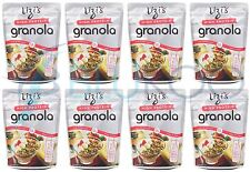 Lizi's High Protein Breakfast Cereal - 350g (Pack of 8)