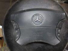 2001-06 MERCEDES S600 LEFT DRIVER SIDE BLACK WHEEL AIR BAG A2204601498 220460149