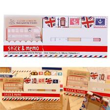 Creative Cute Joy Sticker Post It Bookmark Memo Marker Point Flags Sticky Notes