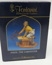 Fontanini Nativity Figure - Amos The Carpenter - 5 Inch Scale # 52566 - Yr 2004