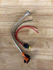 HID Relay Harness D1S D1R D1C 35W/55W AMP Wiring Adapter Bulb/Ballast Connector