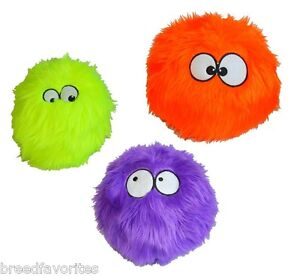 GoDog Furballz Dog Toys: Choose from Purple, Orange, Lime, Rainbow, Red