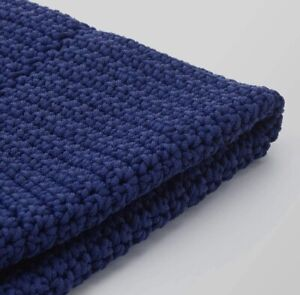 """IKEA Otteron Pouffe Cover Indoor/Outdoor Blue 18 7/8"""" (Cover Only)"""
