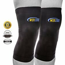 Copper Wear Knee Compression Sleeve Large Fit Extra Tommie Support Brace