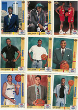 1991-92 UPPER DECK SERIES 1 BASKETBALL COMPLETE SET 1-400