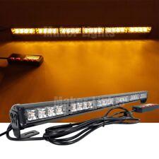"""26"""" LED Warning Flasher Traffic Advisor Directional Arrow Amber Strobe Light Bar"""