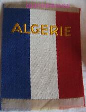 IN6718 - INSIGNE TISSU U.T. UNITÉS TERRITORIALES  ALGERIE FRANÇAISE