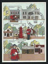 1980 National Stamp Week Miniature sheet MUH