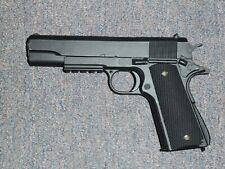 1911 A1 Black Tactical Replica Gun Movie Prop Walking Dead Resident Evil