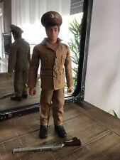 "Action Man VAM Palitoy British Army Officer 12"" Figure Rare Hasbro 1964"