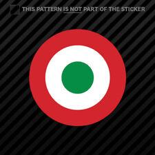 Italian Air Force Roundel Sticker Self Adhesive Vinyl AM Italy ITA IT