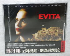 Evita The Complete Motion Picture Music Soundtrack Taiwan Ltd 2-CD w/OBI MADONNA